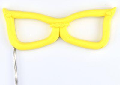Brille gelb